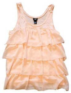 H&M Top Peachy Pink