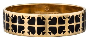 Kate Spade Rare Kate Spade Play Your Cards Right Bracelet In Black and Gold