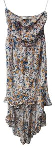 Multi Floral Maxi Dress by Other Hi Lo Bandeau Maxi Printed