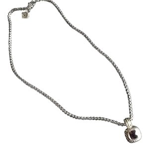 David Yurman Amethyst David Yurman necklace and pendant
