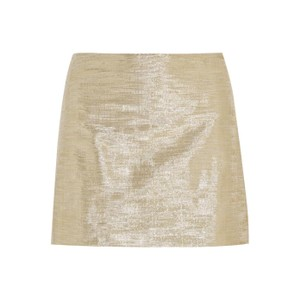 Alice + Olivia Mini Skirt Metallic