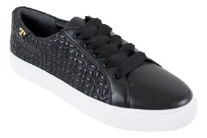 Tory Burch Sneaker Quilted Leather Bryant Black Flats