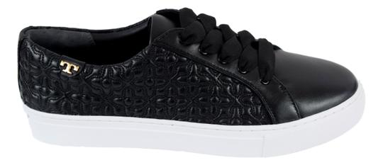Tory Burch Sneaker Quilted Leather Bryant Black Flats Image 2