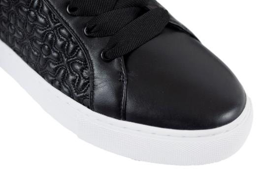 Tory Burch Sneaker Quilted Leather Bryant Black Flats Image 5