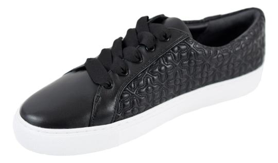 Tory Burch Sneaker Quilted Leather Bryant Black Flats Image 7