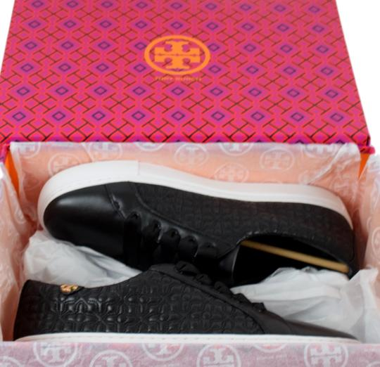 Tory Burch Sneaker Quilted Leather Bryant Black Flats Image 8