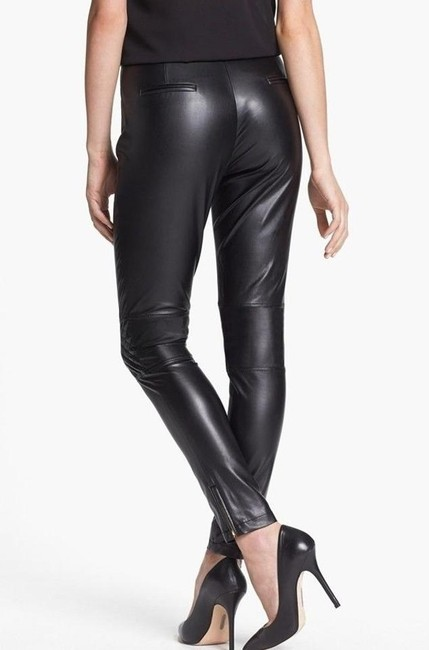 Vince Camuto Straight Pants Black Image 1