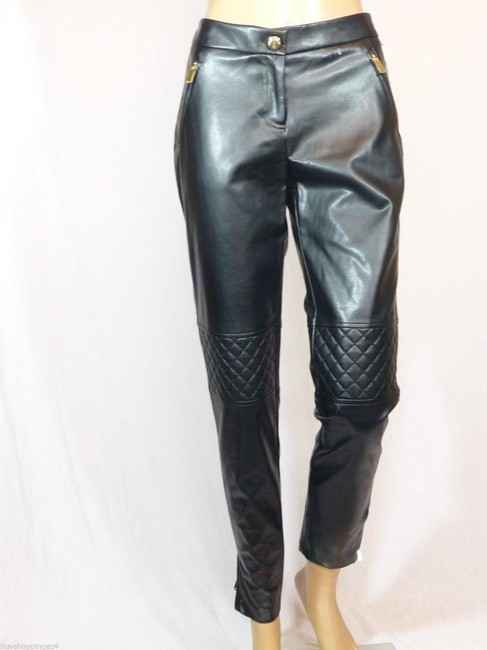 Vince Camuto Straight Pants Black Image 3