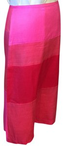 dosa Silk Studded Embellished Pencil Skirt Pink