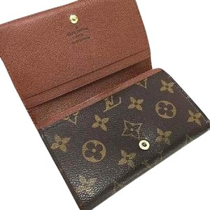 Louis Vuitton France Monogram Canvas Tresor Billet Wallet