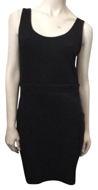 Bailey 44 Black Knee Length Short Casual Dress Size 4 (S) Bailey 44 Black Knee Length Short Casual Dress Size 4 (S) Image 1