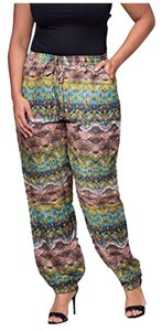 DISIANI Women's Yoga Women's Harem Women's Women's Relaxed Pants Multi Color