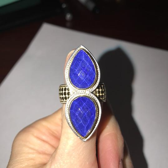 Anna Beck Lapis and Gold Image 9