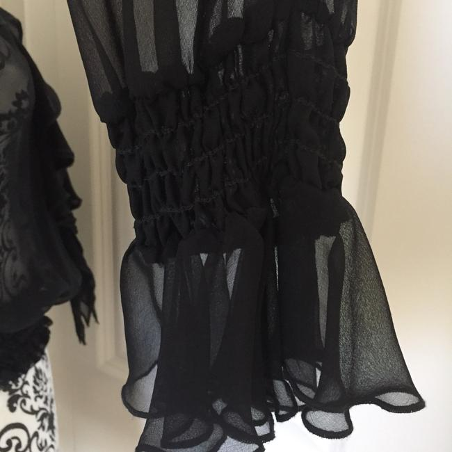 Laundry by Shelli Segal Top Black Image 6