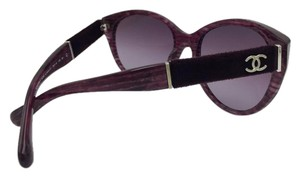 Chanel Chanel Purple Glitter Lines with Suede Temples 5259 c.1440/S1 56