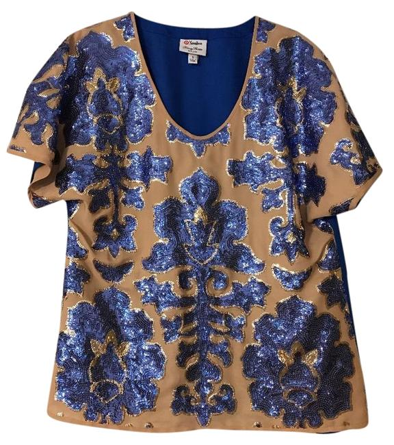 Preload https://img-static.tradesy.com/item/20649838/limited-edition-holiday-collection-sequin-blue-top-0-1-650-650.jpg