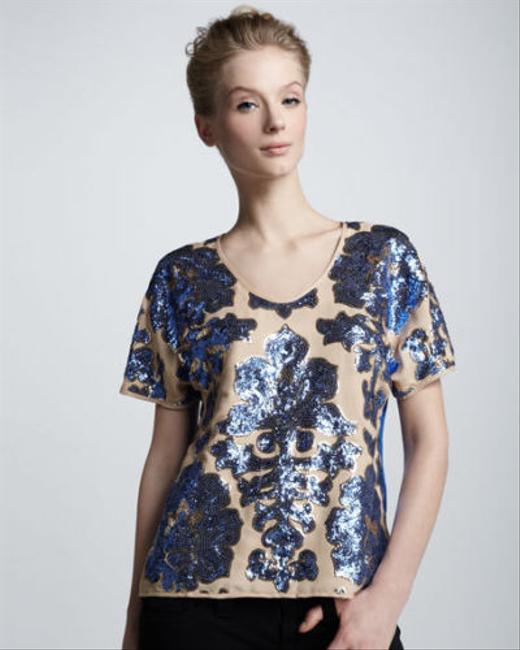 Tracy Reese for Target Top Blue Image 1