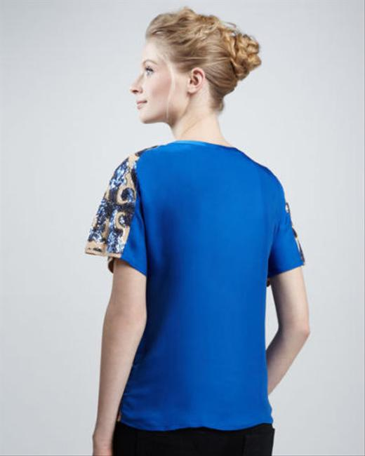Tracy Reese for Target Top Blue Image 2