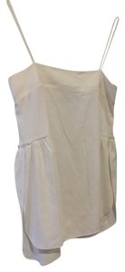 Helmut Lang Silk Top Ivory