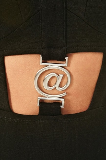 Nasty Gal Limited Edition Sold @ Midriff Tumblr Collection Rare Silver Hardware Dress