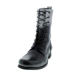 Diesel Wild Land Ombre Genuine Leather Black Boots