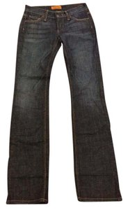 James Jeans Size 24 Boot Cut Jeans-Dark Rinse