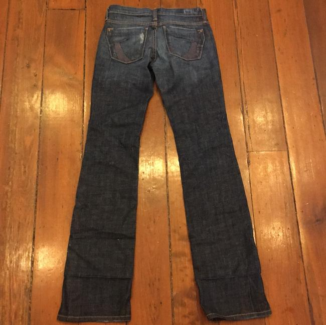 James Jeans Size 24 Boot Cut Jeans-Dark Rinse Image 1