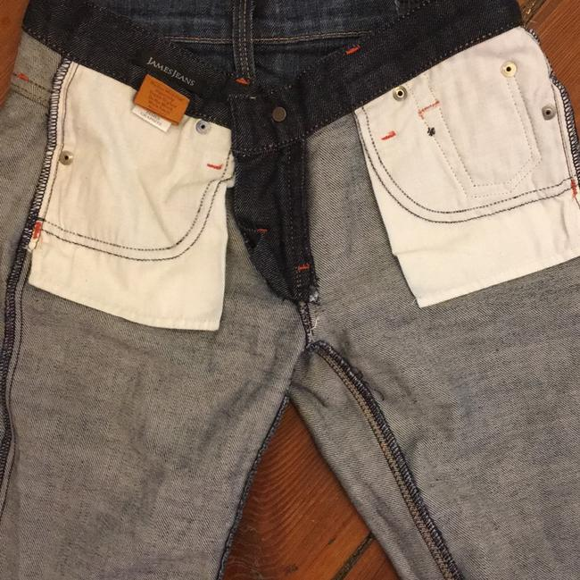 James Jeans Size 24 Boot Cut Jeans-Dark Rinse Image 10