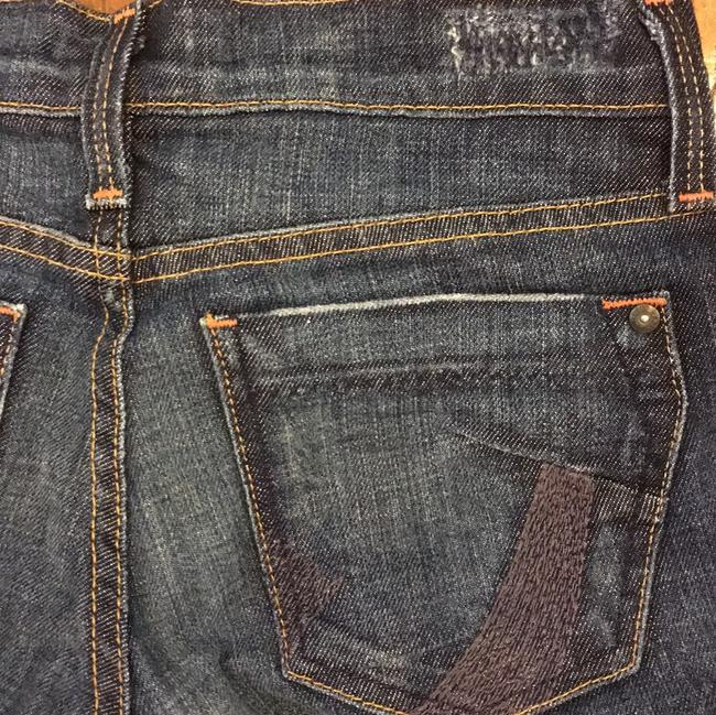 James Jeans Size 24 Boot Cut Jeans-Dark Rinse Image 3