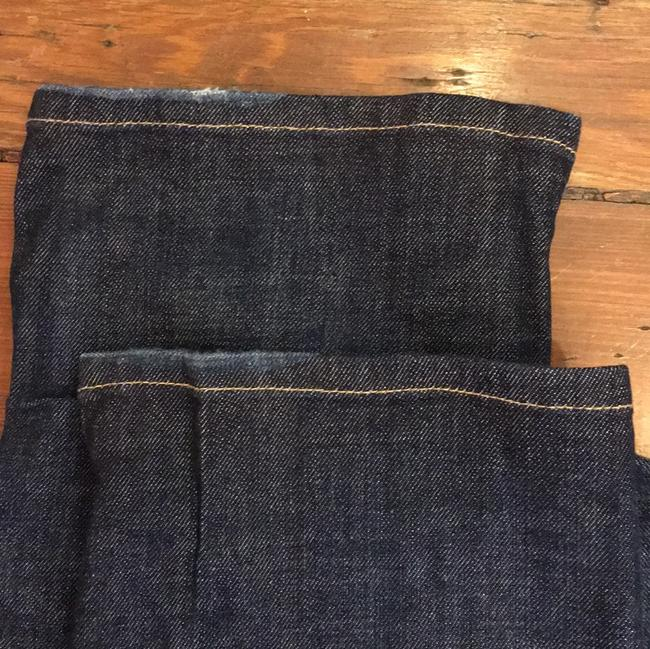 James Jeans Size 24 Boot Cut Jeans-Dark Rinse Image 5