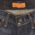 James Jeans Size 24 Boot Cut Jeans-Dark Rinse Image 6