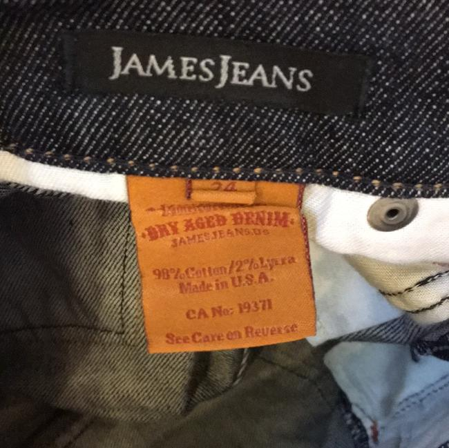 James Jeans Size 24 Boot Cut Jeans-Dark Rinse Image 7