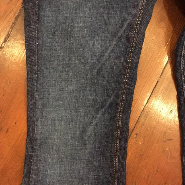 James Jeans Size 24 Boot Cut Jeans-Dark Rinse Image 8
