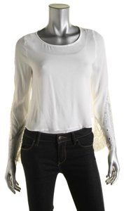 Alythea Crop Small New Without Tags Top Ivory