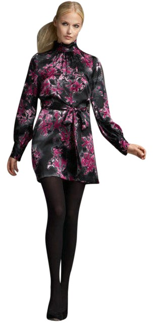 Preload https://img-static.tradesy.com/item/20650176/milly-of-new-york-multi-color-forsythia-floral-silk-short-workoffice-dress-size-4-s-0-1-650-650.jpg