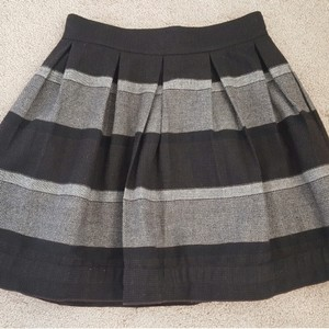 BCBGeneration Skirt black grey