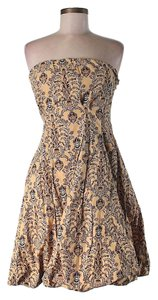 Plenty by Tracy Reese short dress Strapless Print Floral Paisley Bubble on Tradesy
