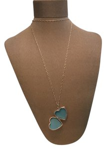 Tiffany & Co. Heart Locket Pendant on Sterling Silver Chain Large Heart Locket with 30 inch long silver chain.
