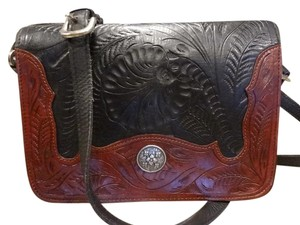 American West Western Cowboy Leather Shoulder Bag