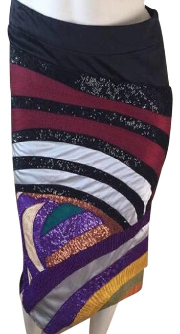 Catherine Malandrino Multicolor Pencil Skirt Size 2 (XS, 26) Catherine Malandrino Multicolor Pencil Skirt Size 2 (XS, 26) Image 1