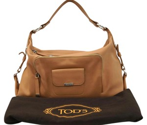 Tod's Benji Pattina Media Handbag Shoulder Bag