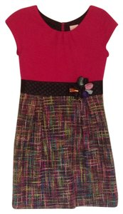 Zoe ltd short dress pink and multicolor on Tradesy