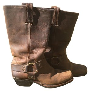 Frye Leather 12r Casual Brown Boots