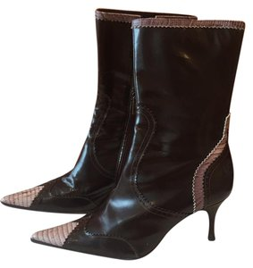 Just Cavalli dark brown Boots