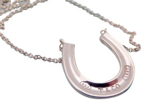 Tiffany & Co. Authentic Tiffany & Co. 1837 Horseshoe Necklace in Sterling Silver