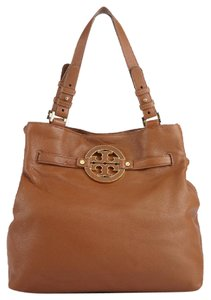 Tory Burch North South Amanda Tote in Brown
