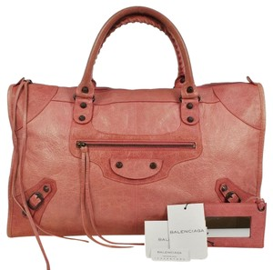 Balenciaga Editor's Leather Hand Satchel