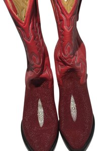 Authentic Sting Ray with Eye one pair Red one pair Black Boots