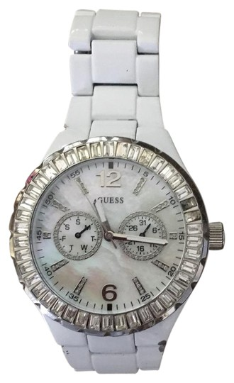 Preload https://img-static.tradesy.com/item/20650682/guess-white-womens-watch-0-1-540-540.jpg