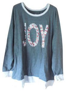 Style & Co Plus-size Jeweled Sweatshirt